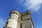 Turret of the Gordes Castle in the Luberon, France — Stock Photo