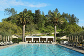 Pool at Solage Calistoga Resort in Calistoga, California — Stock Photo