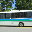 Постер, плакат: Island Explorer Bus in Bar Harbor Maine