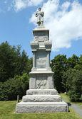 Civil War Memorial in historic Bar Harbor, Maine — Stock Photo