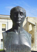 Bust of Esprit Requien in Avignon — Stock Photo