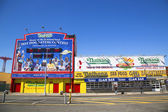 The Nathan s original restaurant at Coney Island, New York — Stock Photo