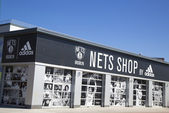 Nets Lifestyle Shop by Adidas at Coney Island, New York. — Stock Photo