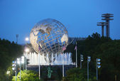 1964 New York World s Fair Unisphere in Flushing Meadows Park — Stock Photo