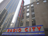 New York City landmark, Radio City Music Hall in Rockefeller Center — ストック写真