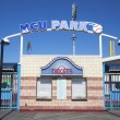 Постер, плакат: MCU ballpark ticket booth in the Coney Island section of Brooklyn
