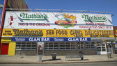 The Nathan's original restaurant — Stock Photo