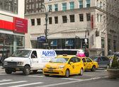 Taxi di new york city manhattan — Foto Stock