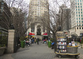 Herald Square on Broadway in Manhattan — Photo