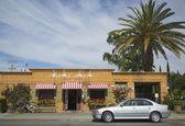 Een bekroonde restaurant bistro jeanty in yountville, napa valley — Stockfoto