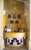 Reception at the tasting room at Darioush Winery in Napa Valley — Stockfoto