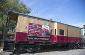 Napa Valley Railroad wine train in Yountville — Foto de Stock
