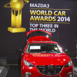 Постер, плакат: Mazda 3 Car at the 2014 New York International Auto Show