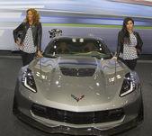 2015 Chevrolet Corvette Z06 Car at the 2014 New York International Auto Show — Stock Photo