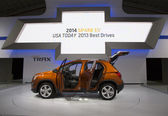 2015 Chevrolet Trax at the 2014 New York International Auto Show — Stock Photo