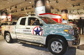 2015 Toyota Tundra Truck at the 2014 New York International Auto Show — Stock Photo