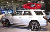 2015 la camioneta de toyota 4runner en el 2014 new york international auto show — Foto de Stock