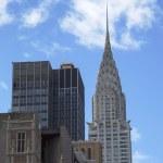 Facade of the Crysler Building in New York — Stock Photo