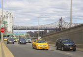 FDR drive in midtown Manhattan — Stock Photo