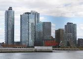 Long Island City  Queens  skyline — Stock Photo