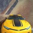 ������, ������: Chevrolet Camaro from new movie Transformers Age of Extinction on display in New York