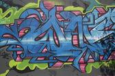 Graffiti at East Williamsburg neighborhood in Brooklyn — Stock Photo