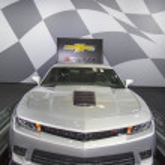 Chevrolet Camaro Z28 on display in New York — Stock Photo #45806797