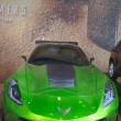 Постер, плакат: Corvette Stingray C7 concept from new movie Transformers Age of Extinction