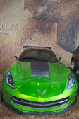 Corvette Stingray C7 concept from new movie Transformers Age of Extinction — Stock Photo
