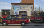 Boar's Head Brand Provisions trucks in Brooklyn — Stock Photo