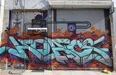 Граффити в разделе Вильямсбург в Бруклине — Стоковое фото