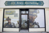 U.S. Army Recruiting Station in Lynbrook — Stock Photo