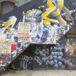 Постер, плакат: Mural at East Williamsburg neighborhood in Brooklyn