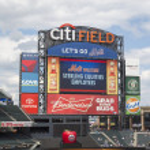 Citi Field, home of major league baseball team the New York Mets — Stock Photo #46871537