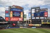 Campo de Citi, lar do new york mets, time de beisebol da major league — Fotografia Stock