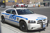 NYPD highway patrol car in Manhattan — Stock Photo