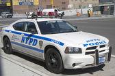 NYPD highway patrol car in Manhattan — Stock Photo