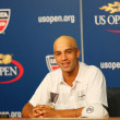 Professional tennis player James Blake announced his retirement during press conference at the Billie Jean King National Tennis Center — Stock Photo