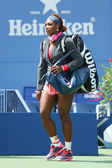Sixteen times Grand Slam champion Serena Williams at Billie Jean King National Tennis Center — Stock Photo