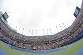 Arthur Ashe Stadium during US Open 2013 third round doubles match at Billie Jean King National Tennis Center — Stok fotoğraf