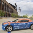 Chevrolet Camaro Mets Special Edition car in the front of the Citi Field — Stock Photo