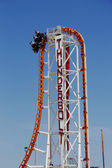 The Thunderbolt roller coaster at Coney Island in Brooklyn — Stock Photo