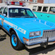 Vintage NYPD Plymouth police car — Stock Photo #48402355