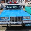 Vintage NYPD Plymouth police car — Stock Photo #48402395