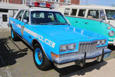 Vintage NYPD Plymouth police car — Stock Photo