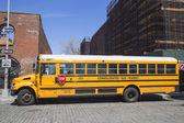 School bus in Brooklyn — Stock Photo