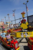 Kids ride at Coney Island Luna Park — Stock Photo