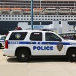 Port Authority Police New York New Jersey K-9 unit providing security for Queen Mary 2 cruise ship — Stock Photo #49039881