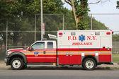 FDNY Ambulance — Stock Photo