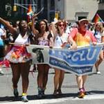 Постер, плакат: LGBT Pride Parade participants in New York City